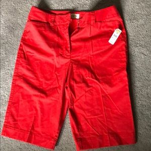 NWT Talbots Stretch Shorts